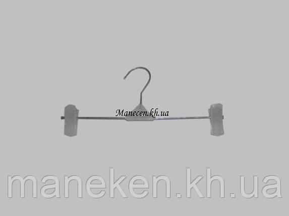 Вешалка брючная  К-1(26см) с пластмассовой прищепкой, фото 2