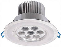 Потолочный светодиодный светильник на 1W светодиодах (7W)