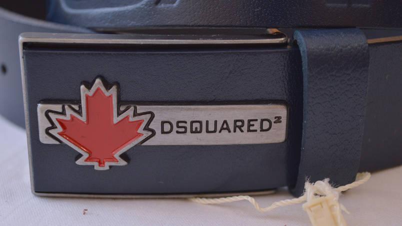 Кожаный мужской ремень DSQUARED14 (копия), фото 2