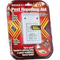 Электромагнитый отпугиватель riddex (от грызунов и тараканов), способный защитить вас на территории в 200 кв.м