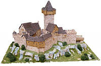 Детский конструктор Крепость в горах (большой) гипс 2000 элементов