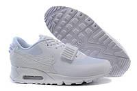 Женские кроссовки Nike Air Yeezy 2 Air Max 90 белые