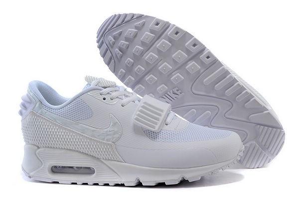b80b2932 Женские кроссовки Nike Air Yeezy 2 Air Max 90 белые: купить в ...