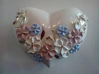 Шкатулка керамическая Цветы