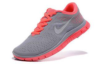 Кроссовки женские Nike Free Run 4.0 / WRUN-074 (Реплика)
