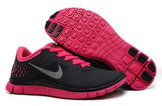 Кроссовки женские Nike Free Run 4.0  / WRUN-076 (Реплика)