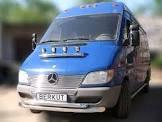 Защита переднего бампера - труба двойная (нержавейка d=70/48) для Mercedes-Benz Sprinter 2004-2015+короткая ,средняя и длинная базы
