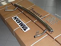 Защита заднего бампера - труба (нержавейка d=70) для Mitsubishi ASX 2012+
