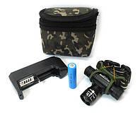 Налобный аккумуляторный фонарь 6660 Zoom bailong bl-6660, BL-6660-XPE