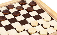 Основные характеристики наборов для игры в шашки