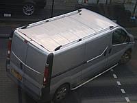 Рейлинги на крышу для Renault Trafic 2008-15+ короткая и длинная базы