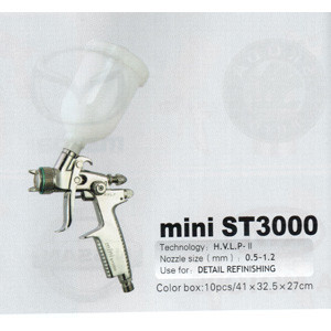 Краскопульт пневматический Mini ST-3000 HVLP