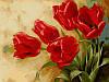 Набор-раскраска по номерам Букет тюльпанов худ Левашов Игорь