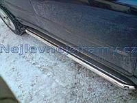 Пороги - C2 (нержавейка d=60) для Volvo XC90