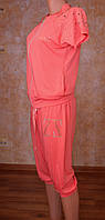 Женский летний  костюм (капри)
