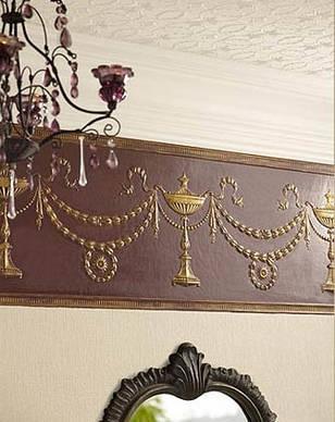Стеновые покрытия (фриз) линкруста (Lincrusta) RD1955