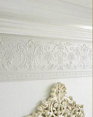 Стеновые покрытия (фриз) линкруста (Lincrusta) RD1957