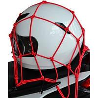Багажная сетка для шлема и не только Oxford Cargo Net красная