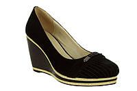 Туфли женские BERLONI 1283-82 замш