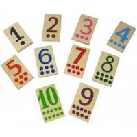 Деревянная игра Набор цифр малый Д573у Руди