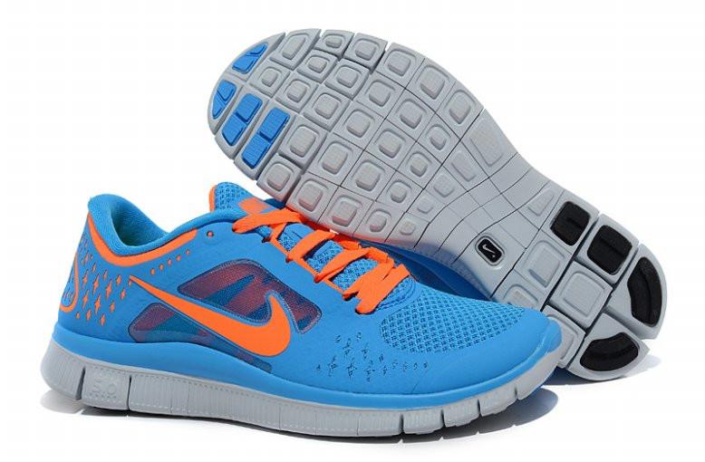 Кроссовки женские Nike Free Run+3 5.0 / WRUN-001