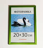 Фоторамка, пластиковая, 20*30, рамка, для фото, дипломов, сертификатов, грамот, вышивок 1611-36