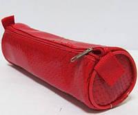 Пенал-тубус Змея красная 19см*d-6см, YT 7036