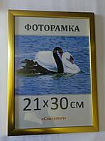 Фоторамка пластиковая 21х30, рамка для фото 1611-18