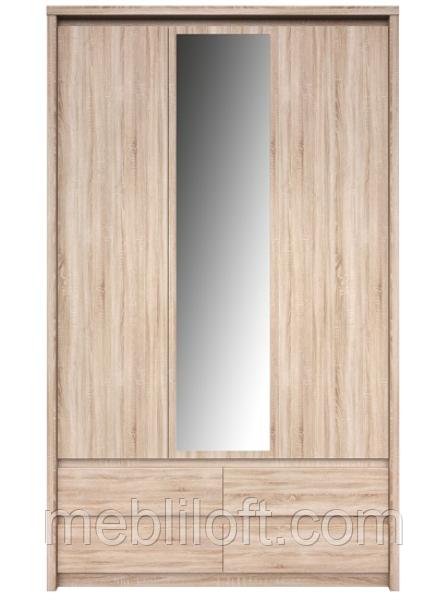 Шафа 3d4s (з дзеркалом) Модульна система  Нортон
