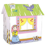 Игровой картонный домик для принцессы ТМ Bino