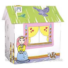 Ігровий картонний будиночок для принцеси ТМ Bіno