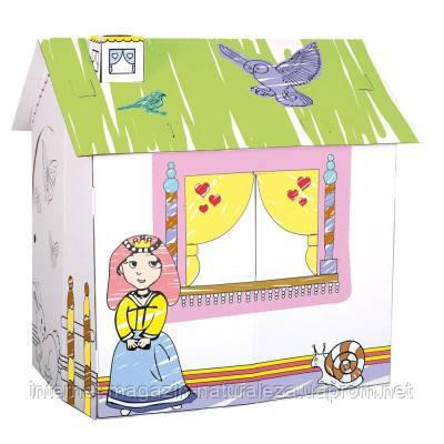 Игровой картонный домик для принцессы ТМ Bino , фото 2