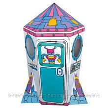 Ігровий картонний будиночок Bino Ракета