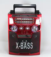 Музыкальный центр Караоке (радио) 3 в 1 ретро NewKanon KN-60-REC-R USB/МР3 с пультом