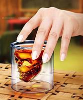 Стакан с черепом для крепких напитков   Doomed