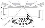 Датчик движения и присутствия накладной 360° белый Hager EE804A, фото 4