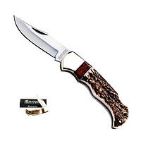 Складной нож Magnum by Boker Exquisite Stag Lock Back