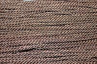 Канат декоративный 3мм (т) (50м) св.шоколад, фото 1
