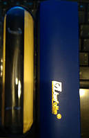 """Футляр для ручок SKCB010 silver gold пластик """"човник"""" уп10"""