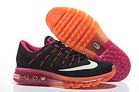Женские кроссовки Nike Air Max 2016 black-orange, фото 1