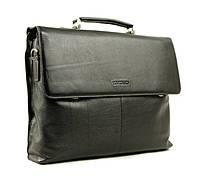 Кожаный деловой мужской портфель
