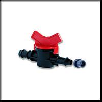 Кран с уплотнительной резинкой для Drip Line многолетней трубки с полиэтиленовой трубой D16