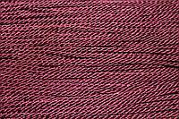 Канат декоративный 3мм (т) (50м) т. бордовый