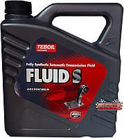 Масло Teboil Fluid S для автоматических трансмиссий , 4л.