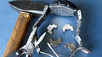 Ремонт металлических браслетов и застежек (замки), ремонт часов