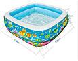 Детский надувной бассейн «Аквариум» Intex 57471 (159*159*50 см) 2 вида, фото 3