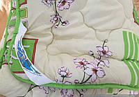 Двуспальное одеяло мех на 1 сторону