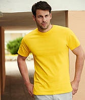 Мужская футболка плотная Fruit of the loom
