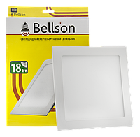 Светодиодный светильник 18W Bellson квадрат 4000K