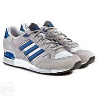 Кроссовки adidas zx 750 grey blue
